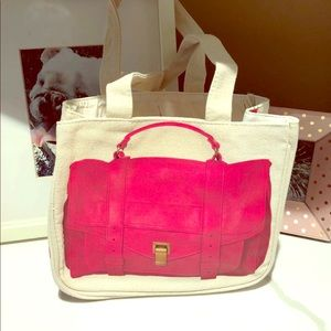 Thursday Friday Proenza shoulder Inspired Tote